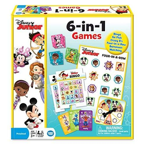 Disney Junior 6 in 1