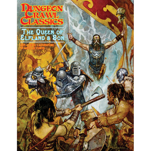 Dungeon Crawl Classics #97 The Queen of Elflands Son