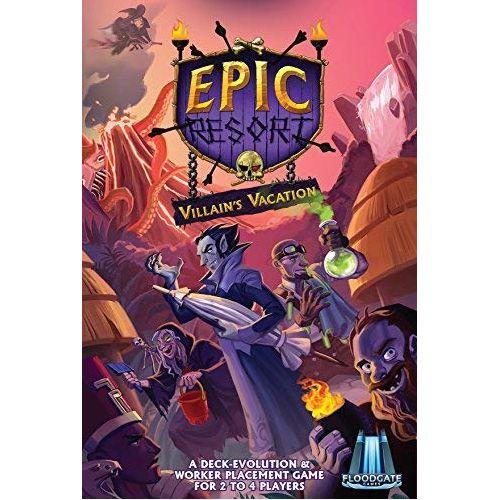 Epic Resort - Villains Vacation Board Game