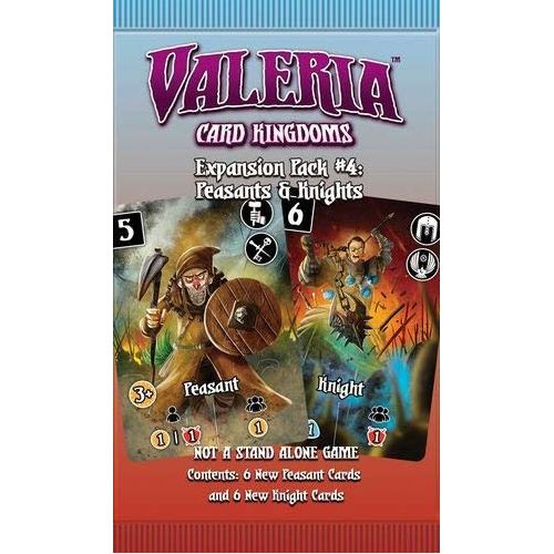 Expansion Pack #4: Peasants & Knights Valeria: Card Kingdoms
