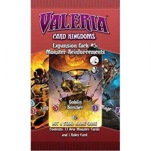 Expansion Pack #5: Monster Reinforcements Valeria: Card Kingdoms