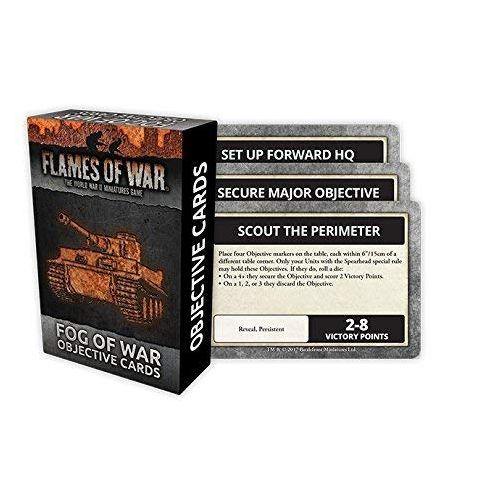 Fog Of War Objective Cards