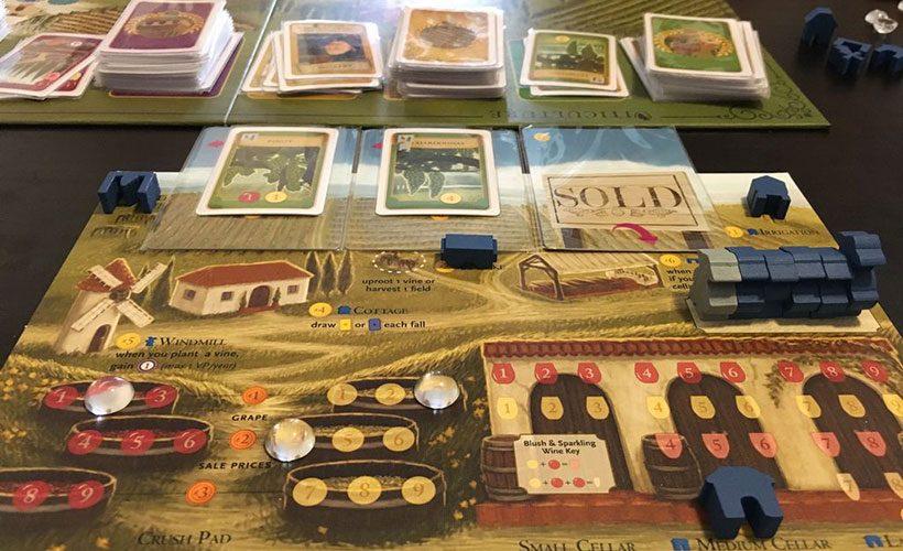 Viticulture board game