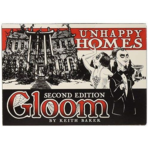 Gloom! Card Game 2nd Edition: Unhappy Homes Expansion