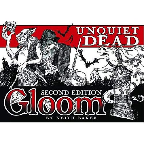 Gloom! Card Game 2nd Edition: Unquiet Dead Expansion