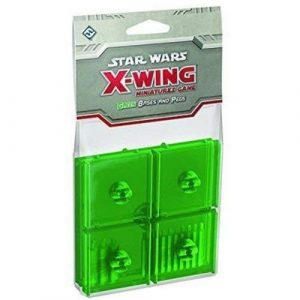 X-Wing Mini Game: Green Bases and Pegs Accessory