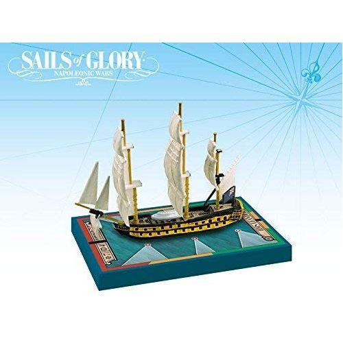 HMS Leander 1780 / HMS Adamant 1780: Sails of Glory Ship Pack