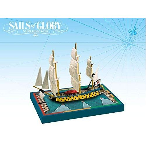 HMS Leopard 1790 / HMS Isis 1774: Sails of Glory Ship Pack
