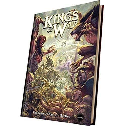 Hardback: Kings of War 2nd Edition Rulebook