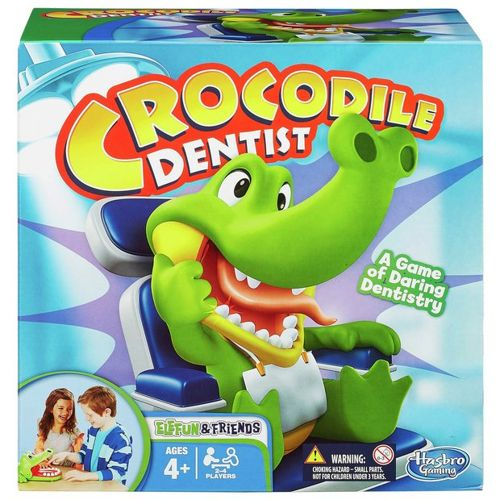 Hasbro Elefun & Friends Crocodile Dentist Game