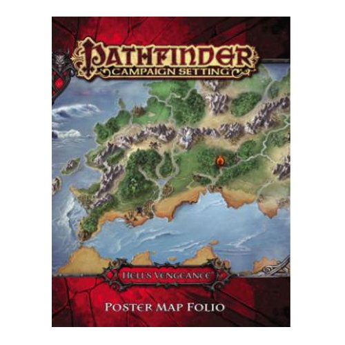 Hell's Vengeance Poster Map Folio: Pathfinder Campaign Setting