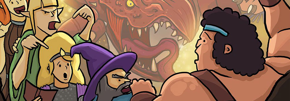 Hero Master: An Epic Game of Epic Fails Preview