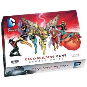 Heroes Unite: DC Deck Building Game