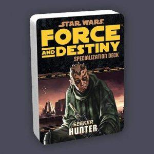 Star Wars: Force and Destiny RPG - Hunter Specialization Deck