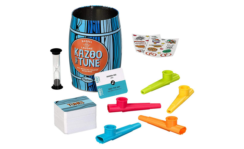 Kazoo That Tune Review - Box Components