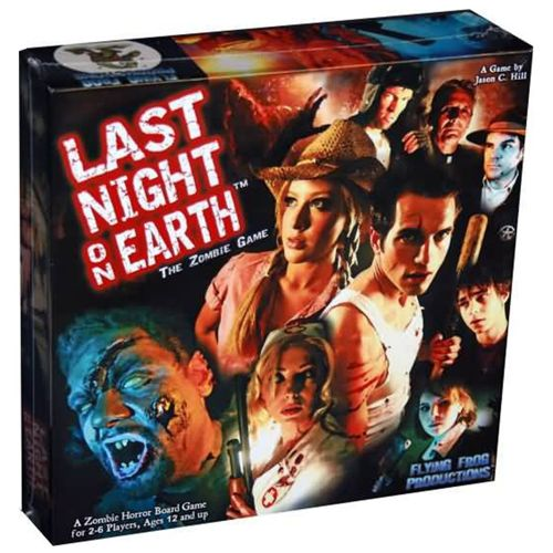 Last Night on Earth Boardgame