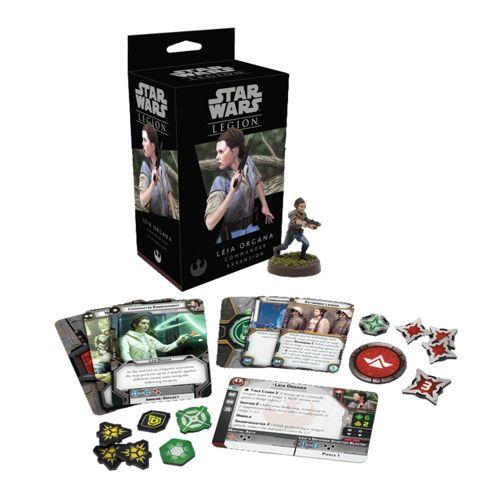 Leia Organa Commander Expansion: Star Wars Legion