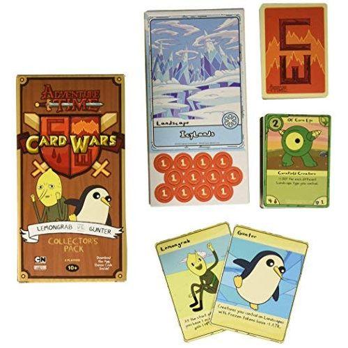 Lemongrab vs Gunter: Adventure Time Card Wars