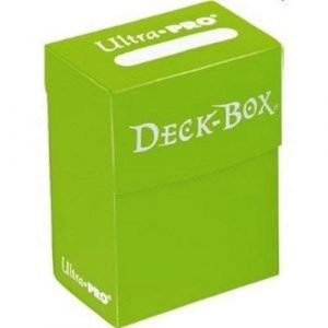 Light Green Deck Box
