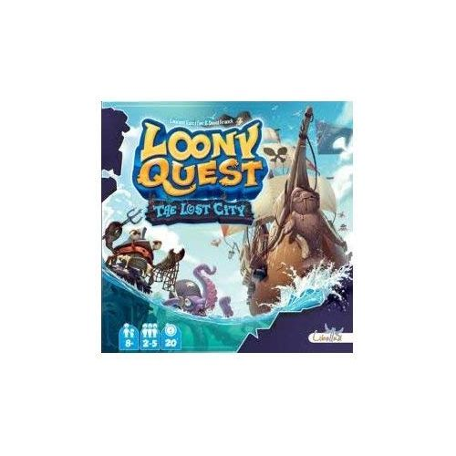 Loony Quest: The Lost City Expansion 1
