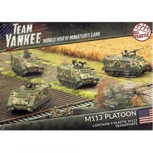 M113 / M106 Platoon (x5) (Plastic)