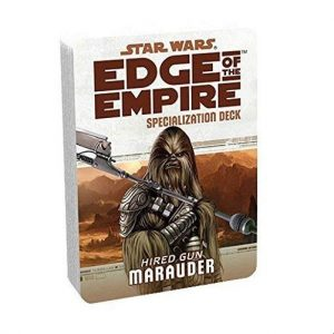 Star Wars: Edge of the Empire RPG - Marauder Specialization Deck