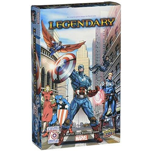 Marvel Captain America 75th Legendary Small Box Expansion