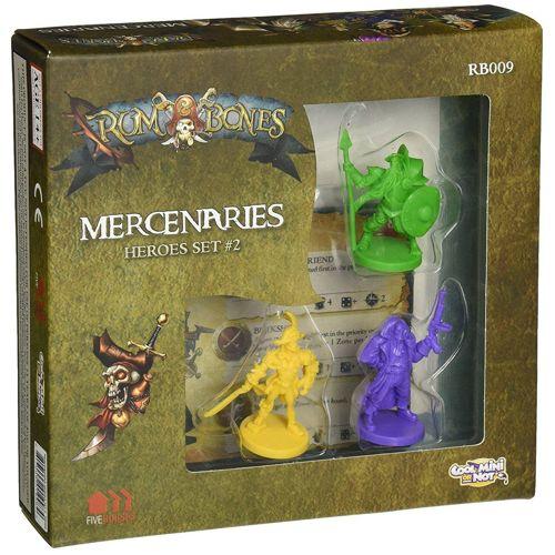 Rum & Bones: Mercenaries Heroes Set #2 board game