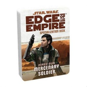 Star Wars: Edge of the Empire RPG - Mercenary Specialization Deck