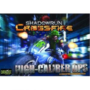 Mission 1 High Caliber Ops: Shadowrun Crossfire Card Game Exp