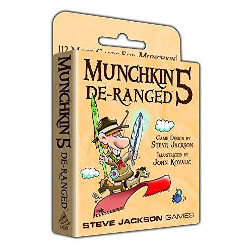 Munchkin 5 - DeRanged (Colour)