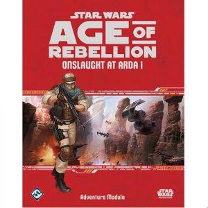 Star Wars: Age of Rebellion RPG - Onslaught at Arda 1 Adventure Module