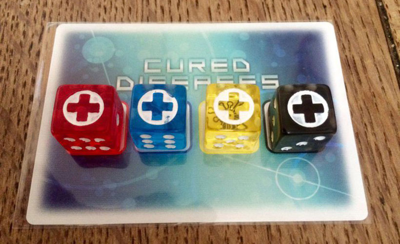 Pandemic: The Cure Review - Cured Diseases