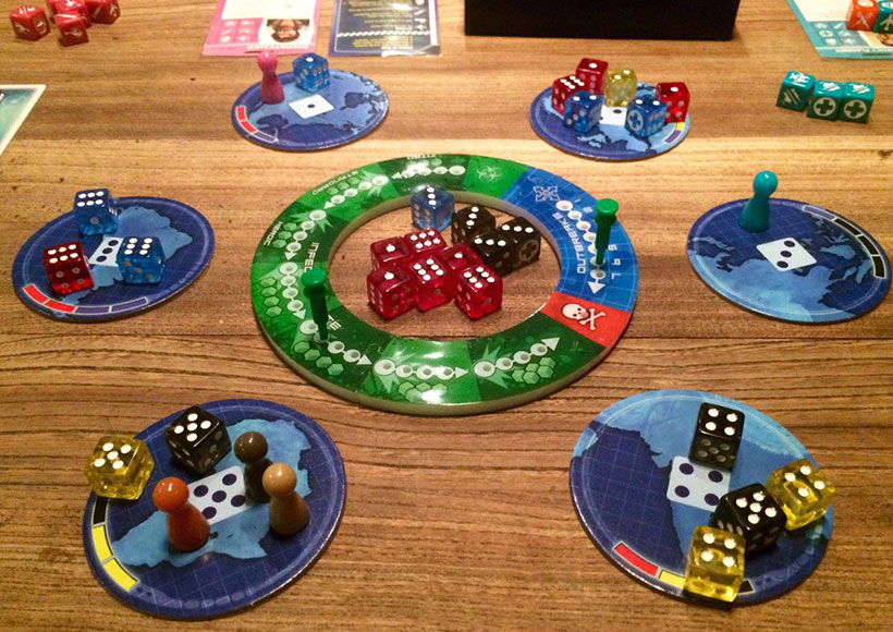 Playing Pandemic: The Cure Board Game