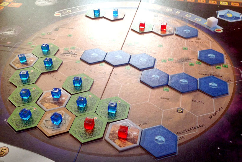 Playing Terraforming Mars Solo Mode