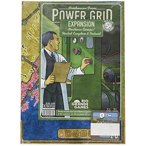 Power grid: N. Europe/UK Expansion
