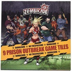 Prison Outbreak Tiles: Zombicide