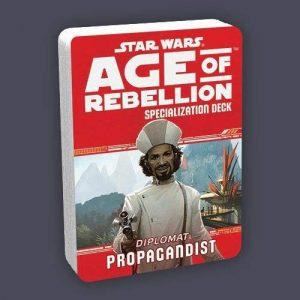 Star Wars: Age of Rebellion RPG - Propagandist Specialization Deck