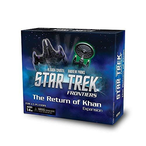Return of Khan Expansion: Star Trek Frontiers Board Game