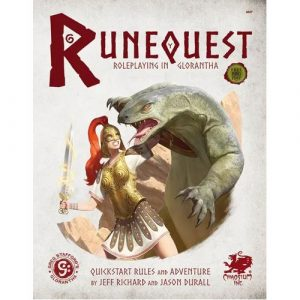 Roleplaying in Glorantha Quick Start: RuneQuest