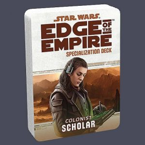 Star Wars: Edge of the Empire RPG - Scholar Specialization Deck