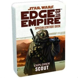 Star Wars: Edge of the Empire RPG - Scout Specialization Deck