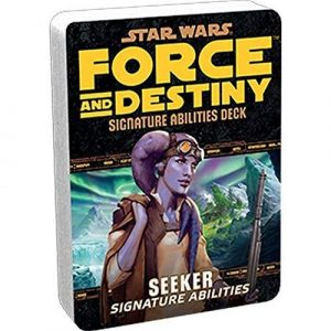 Star Wars: Force and Destiny RPG - Seeker Signature Specialization Deck