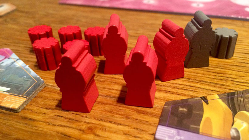 Sentients Board Game - Wooden Pawns