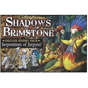 Serpentmen of Jargono Deluxe Enemy Pack: Shadows of Brimstone Exp