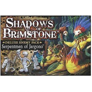 Serpentmen of Jargono Deluxe Enemy Pack: Shadows of Brimstone Exp