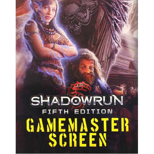 Shadowrun 5th Ed. GM Screen