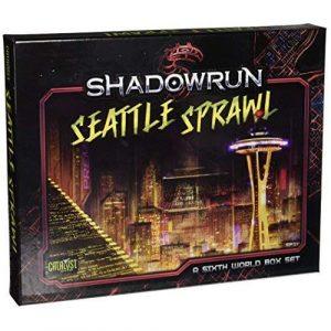 Shadowrun Seattle Sprawl Box Set