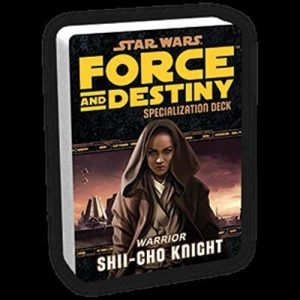Star Wars: Force and Destiny RPG - Shii-Cho Knight Specialization Deck