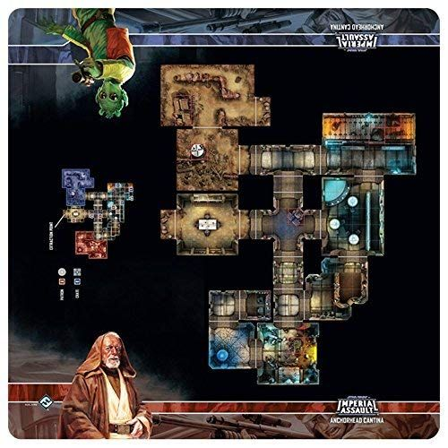 Skirmish Map - Anchorhead Cantina : Star Wars Imperial Assault